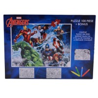 Puzzle 100 piese Avengers